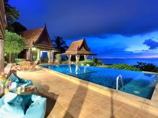 Thai style villa with amazing Ocean Views - Koh Samui vacation rentals