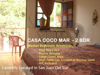 CASA COCO MAR -Nice 2 BDR Townouse in Central SJDS - San Juan del Sur vacation rentals