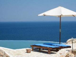 Traditional stone house Villa Purple in gated community with private pool & sea access - Agios Nikolaos vacation rentals
