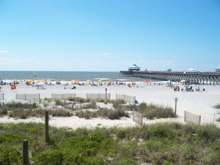 Oceanfront Condo - Right on the Beach! - Folly Beach vacation rentals