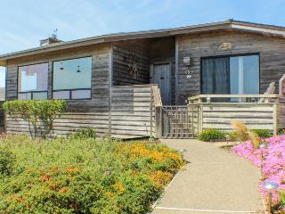 Golf course and ocean views from this charming home! - Bodega Bay vacation rentals