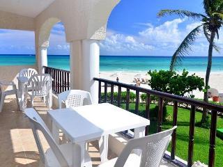End cap unit! Oceanfront 3 bedroom in Xaman Ha (XH7123) - Playa del Carmen vacation rentals