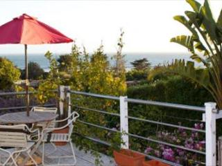 Sunset Views from the deck of this bungalow on the Hill - Stinson Beach vacation rentals