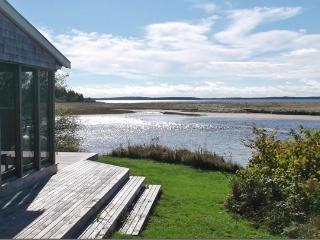 Spectacular views from the beachfront house - Riverport vacation rentals