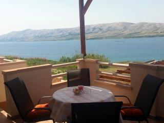 Modern apartment near the beach, amazing view - Novalja vacation rentals