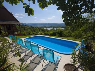 Villa Idill: 6 rooms, pool, panorama - Zebegeny vacation rentals