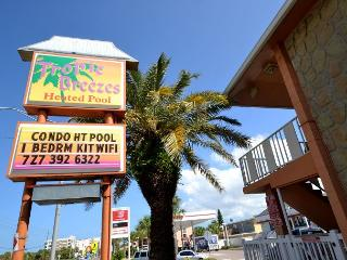 Tropic Breezes #5 - Nice & Nautical!  Ground floor poolside, steps to beach! - Madeira Beach vacation rentals