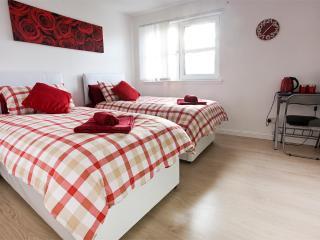 Bright cosy twin room with private bathroom - Edinburgh vacation rentals