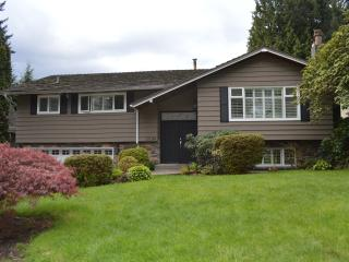 Bright spacious sunny family home - North Vancouver vacation rentals