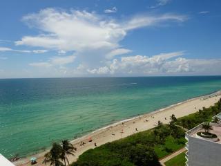 EXCLUSIVE, UNIQUE OCEAN FRONT UNIT! WOW HUGE PATIO - Sunny Isles Beach vacation rentals