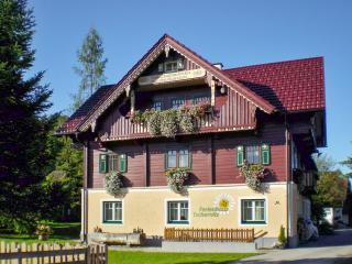 Austrian chalet-style house in Pruggern, Styria, w heating, garden & mountain view, near restaurants - Pruggern vacation rentals