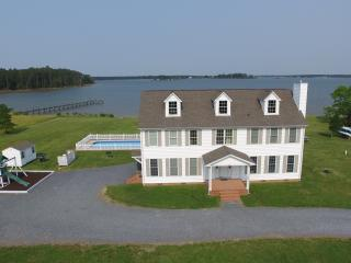 Yr Round Waterfront Home w/ Dock & Pool - Slps 18 - Cambridge vacation rentals
