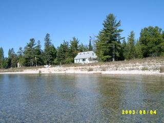 Sand Beachfront Family Cottage - Bois Blanc Island vacation rentals