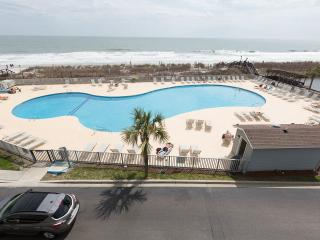 Direct Oceanfront 1 Bedroom Condo with Pool, Tennis Court, Hot Tub - Myrtle Beach vacation rentals
