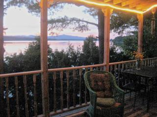 Lake Front Book Filled Heavenly Escape Hatch - Bridport vacation rentals
