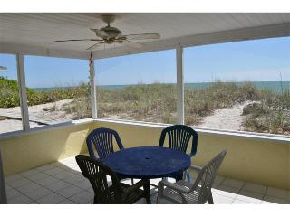 On the Beach! Steps to swimming.  Blue Dolphin 1 - Manasota Key vacation rentals
