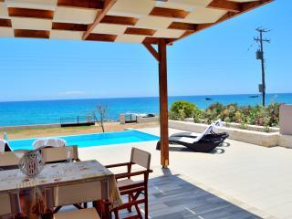 Mary Beach Ena waterfront villa next to tavern - Frangokastellon vacation rentals
