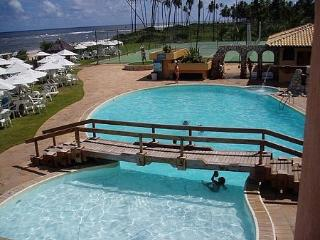 flat full furnished in front of the beac - Guarajuba vacation rentals