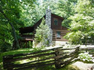 Log Cabin Near Boone/Hot Tub/Creek/WiFi/Hike/Fish - Boone vacation rentals