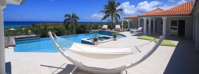 SPECIAL OFFER: St. Martin Villa 128 This Superb, Newly Constructed Private Home Has A 180º View Of The Crystal Blue Waters Of The Caribbean. - Image 1 - Terres Basses - rentals