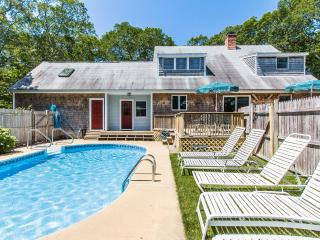 DRAPM - Mink Meadows Family Compound, Private Pool, Walk or Drive to Private Association Beach, Beautifully Landscaped Yard,  Deck and Patio,  Golf 1 Mile from House - Vineyard Haven vacation rentals