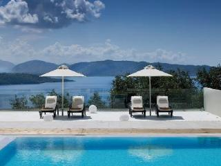 Modern Villa Daniela - pool, terrace, views, daily maid & organic meals - Avlaki vacation rentals