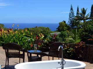 Whispering Bamboo cottage ocean views, pool, WIFI - Haiku vacation rentals
