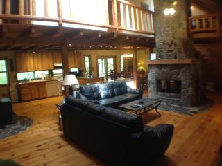 Gorgeous Pocono Log Cabin on 10 Acres--Hot Tub!! - Dingmans Ferry vacation rentals