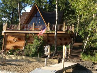 Lakefront A frame  Home at Williams Lake-SLEEPS 10 - Salmon vacation rentals