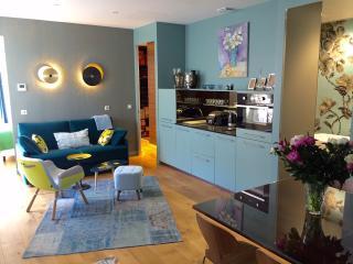 Luxury Apt. Le Marais-Pompidou. 2BR/2BA. A/C - Paris vacation rentals