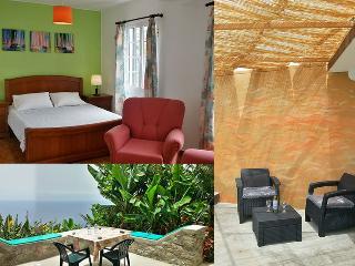 Sweet cottage with romantic sea view sunny terrace - Arco da Calheta vacation rentals