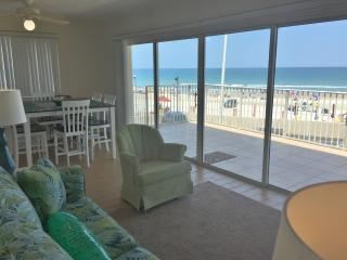 Beach front Condo 2nd floor - Daytona Beach vacation rentals