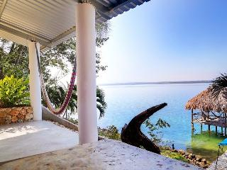3 bed house near Tikal, private beach - Playa Blanca vacation rentals
