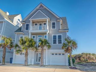 6BR Beachfront Home w/ Hottub wk of 8/29 $2795 - North Topsail Beach vacation rentals
