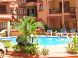 41) 1 Bed Apartment Calangute Sleeps 2/4 - Calangute vacation rentals