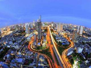 New 1 BR next to BTS, Free WiFi, 29th Flr, 56 Sq.M - Bangkok vacation rentals