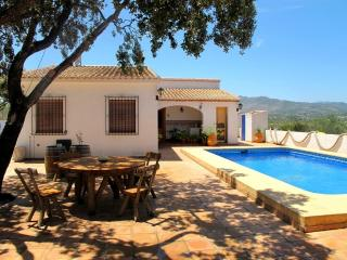 House with big plot  20 min from Benidorm - Benissa vacation rentals