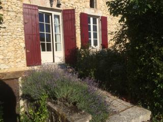 Restored Farmhouse gite with views and pool - Lalandusse vacation rentals