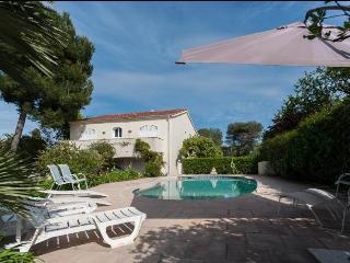 Top of villa - pool, 3 bedrooms, 3 bathrooms - Antibes vacation rentals