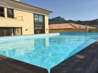 Spacious luxury house in central Calvi with private swimming pool, sea views and air con – sleeps 8 - Calvi vacation rentals