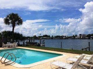 NEW 50% OFF IR Beach WATERFRONT Private Pool House - Indian Rocks Beach vacation rentals