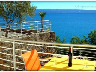Ark 4* panoramic sea view studio, Rabbit 1/2 - Stobrec vacation rentals