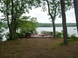 Rustic Lakeside Camp: Dock,beach,yard,garage - Meredith vacation rentals