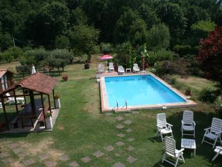 Casale i Girasoli: park and swimming pool - Barga vacation rentals
