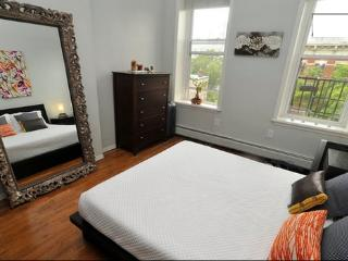 Sunny Private Condo with Deck! - Jersey City vacation rentals