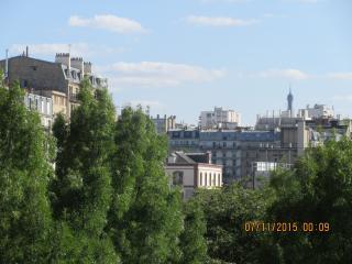 B Parisian! Elegant New Studio + Eiffel Tower View - Paris vacation rentals