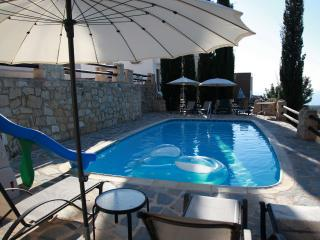 Relax in quiet, enjoy our private pool and seaview - Paphos vacation rentals