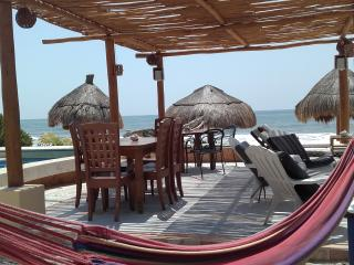 AMAZING 3 Bdrs. BEACH FRONT Ground Floor - Playa del Carmen vacation rentals