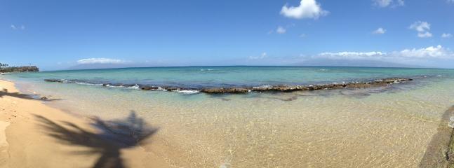 Beach out front - Ka'anapali Getaway Oceanfront Hale Ono Loa - Lahaina - rentals