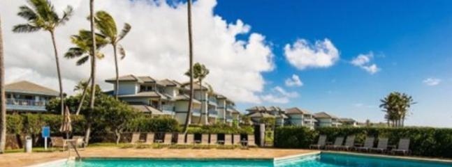 pool - Free Car* with Poipu Sands 115 - Immaculate and beautifully remodeled 1 bedroom, OCEAN VIEW, in Poipu - Poipu - rentals